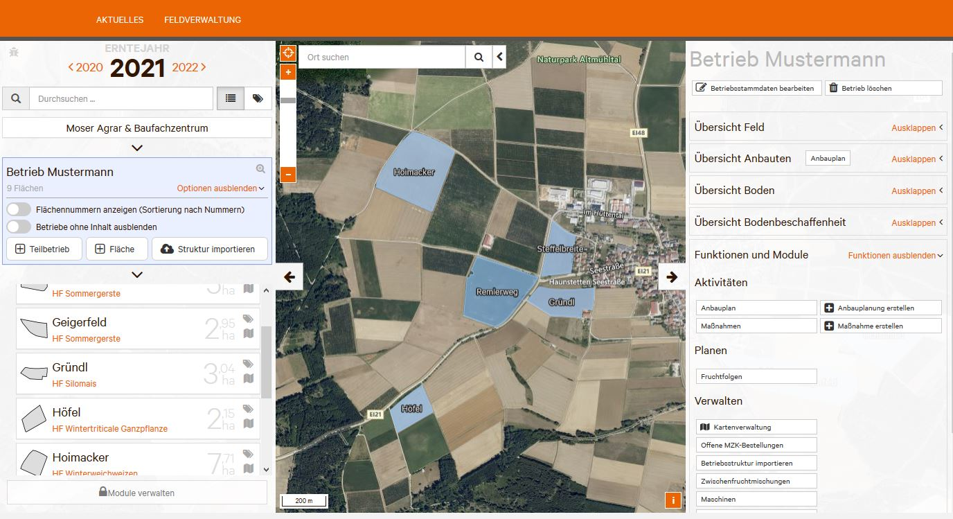 Smart farming Portal